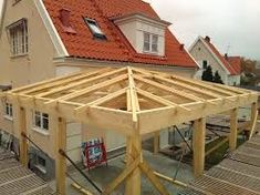 Relaterad bild While ancient in idea, a pergola may be experiencing a bit of a Gazebo, Pergola, Compact House, Outside Room, Getaway Cabins, Roof Structure, Roof Tiles, Backyard, Patio