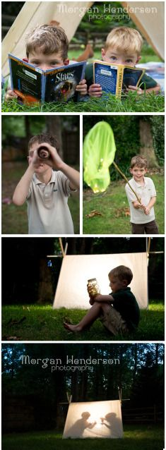 Family Photography ~ Camping & Stargazing