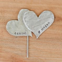 would be cute for a bridal shower cake topper and then as a keepsake!