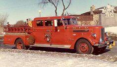 Minneapolis Minnesota Fire / Pirsch Pumper
