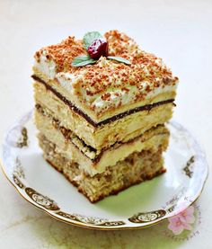 Cooking Tips, Cooking Recipes, Polish Recipes, Polish Food, Biscotti, Vanilla Cake, Tiramisu, Ale, Pancakes