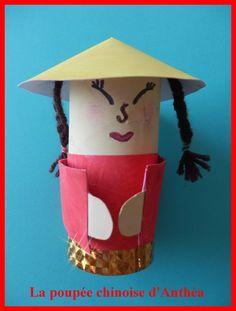 poupée chinoise avec rouleau PQ