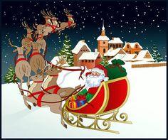 Santa Clip Art Borders | Favorite Sites for Christmas Clip Art - About.com Clip Art
