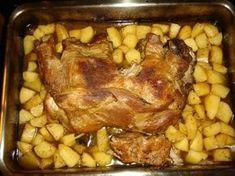 Greek Recipes, Desert Recipes, Pork Recipes, Cooking Recipes, Healthy Recipes, Greek Menu, Christmas Cooking, Pork Dishes, Pork