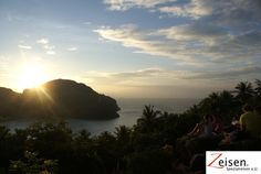 Sonnenuntergang über der Insel Thailand, Water, Outdoor, Tour Operator, Sunset, Island, Travel, Gripe Water, Outdoors