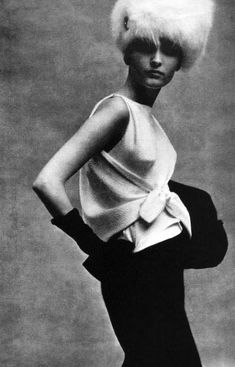 Balenciaga for vogue 1963   52 Photos Of Classic Cool That Will Make You Wish We Dressed Like We Used To