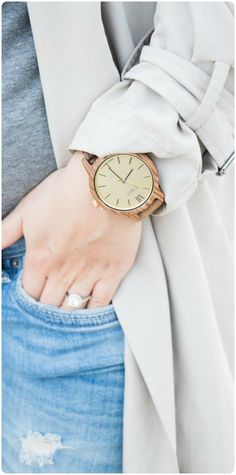 Steppin' out this Spring in style with @lafemmeblog | Find your JORD at woodwatches.com, shipping worldwide with free shipping in the U.S.!