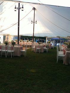 amazing tent wedding i worked