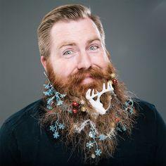 Deer-beard #hipsterbeards #menwithbeards #beardart #beards #hotbeards #christmasbeards #xmasbeards