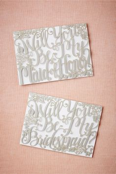 product | Will You Be My Card from BHLDN | laser cut details