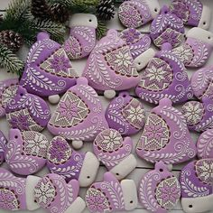 Lilac Winter Cookies