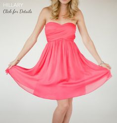 loving this sweet shade of pink // little borrowed dress :: dress rentals at www.littleborroweddress.com/