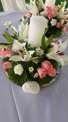 Flower centrepiece