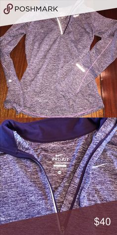 Purple Nike sweatshirt Excellent condition. Only wore once. Purple. Nike Tops Sweatshirts & Hoodies
