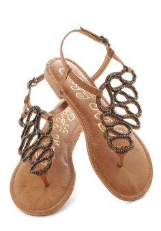 922308bf8c85 Twists and Terns Sandal - Tan