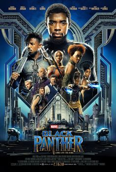 New 'Black Panther' Poster Spotlights T'Challa's Allies, Enemies