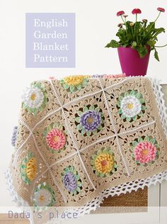 English Garden Baby Blanket | Dada's place | Bloglovin'