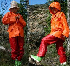 Pvc Raincoat, Rain Gear, Girls In Love, Greatest Hits, Girls Wear, Pvc Vinyl, Rain Boots, Latex, Orange