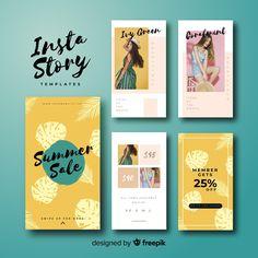 Instagram stories template Instagram Design, Layout Do Instagram, Instagram Story Template, Marketing Digital, Social Marketing, Social Media Template, Social Media Design, Brochure Design, Flyer Design