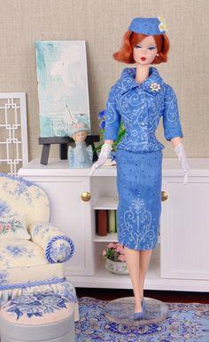 Venetian Blue for Barbie & Victoire Roux by HankieChic on Etsy