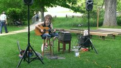 Patsy Wellman performs