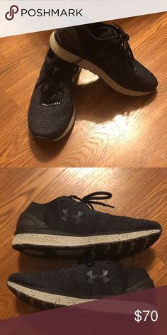 NWOT Under Armour black and grey shoes! Tried these on but never worn out! So comfy! Women's size 8. Under Armour Shoes Sneakers
