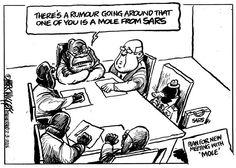 s there a mole in SARS? Mark Wiggett investigates for the Herald Port Elizabeth - #NoConfidenceInZuma