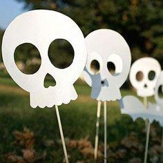 Sidewalk Skeletons Craft