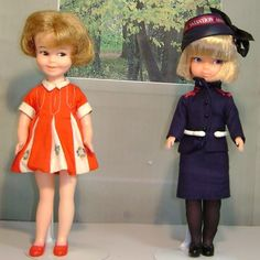 Posing Penny and a friend in a cute Salvation army uniform. I just love the sally army out fit