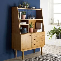 Quilda midcentury-style sideboard and plate top at La Redoute