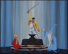 Freddie Mercury Born to Be Queen. Walt Disney Cartoons Updated for the 21st Century. To see more art and information about Jose Rodolfo Loaiza Ontiveros click the image.