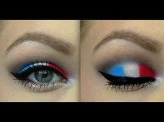 Fourth of July 2013 Makeup ♡ Tutorial! #alisonLovesJB
