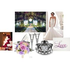 """""""Every Fantasy- The Dream Wedding"""" by reviewingmami on Polyvore"""