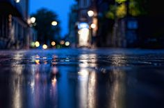 Wet Street In Linkping