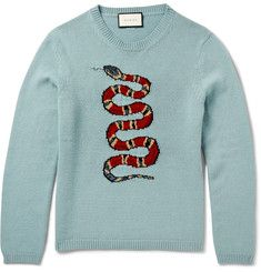 MR PORTER's offers a selection of Designer Knitwear, from Ralph Lauren, Tom Ford, Loro Piana & more. Dope Sweaters, Versace, Gucci Hoodie, Dior, Gucci Gifts, Gucci Outfits, Ralph Lauren, Fashion Sites, Matches Fashion