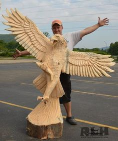 Carved Eagle