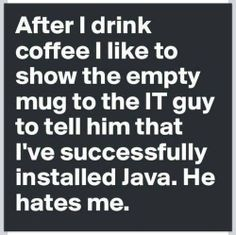Installing Java.