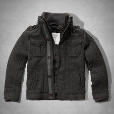 Wool Jacket. Grey. AF.