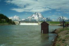 Snake River Dams | Jackson Lake Dam, ID.