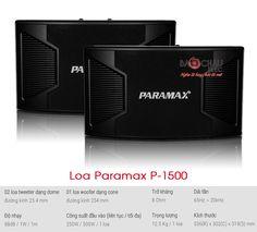 Loa Paramax P-1500 là một trong những cặp loa cho chất lượng âm thanh cực tốt. Hãy liên hệ với Bảo Châu audio để sở hữu cặp loa-paramax-p-1500 với giá rẻ nhất