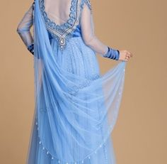 #Blue symbolizes Trust, Loyalty & Confidence.  There is Big blue sky waiting just behind the Cloud. Visit our #Studio or click on http://www.regaliabydeepika.com to get your blue dress.  #Fashion #Hauzkhas #shahpurjat #Anandlok #Neeti-bhag #Udaypark #designer #Customize #Dress #Southex