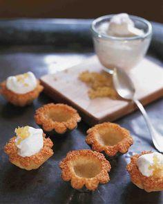 Coconut-Macaroon Tartlets Recipe