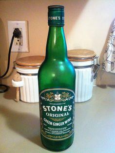 Stone's Original Green Ginger Wine - Established 1740 - Produced & Bottled in Jamaica