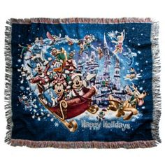 Mickey Mouse Throw - Holiday