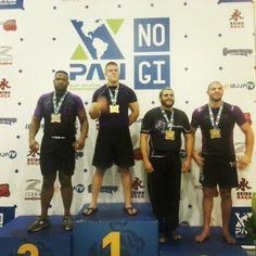 DenSAL takes Silver at the No Gi Pan in Purple Belt Ultra division. #ibjjf #purplebelt #nogipan