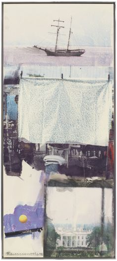"""""""Lufting [Anagram (A Pun)],"""" 1998 © Robert Rauschenberg/ Licensed by VAGA, New York, NY"""