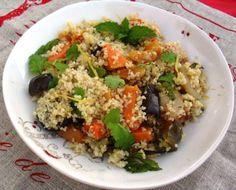 Cuscús de verduras ¡Ligero y sabroso!   #Cuscus #CuscusDeVerduras #RecetasConVerduras #RecetasLigeras #CenasLigeras #RecetasLight