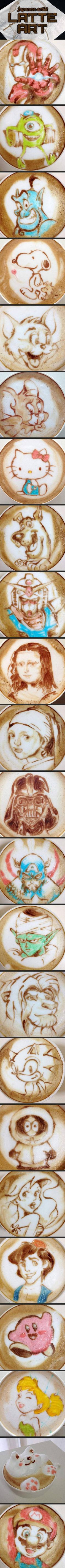 We've rounded up some incredible latte art examples by a Japanese artist. Nope. Done.
