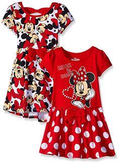 f725ba686 Costco: Minnie Mouse Girls' Dress - Sizes: 2T-6 | #Costco | Dresses ...