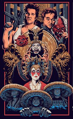 Big Trouble in Little China by Zaki Hamdani - Home of the Alternative Movie Poster -AMP-